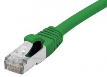 cable ethernet s/ftp vert 7,5m catégorie 6a