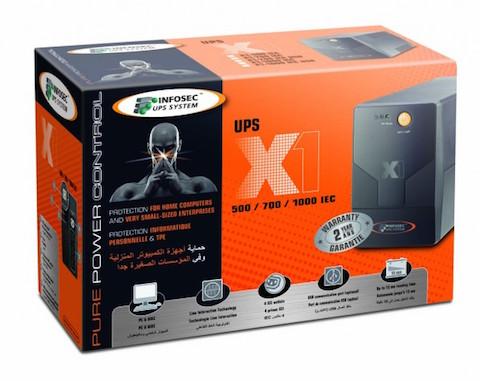 Onduleur Line Interactive 500VA Infosec X1