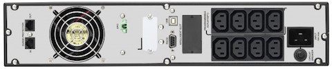Onduleur on line double conversion 1000VA Infosec E6 LCD RT Evolution