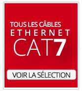 Câbles Ethernet CAT7 et 7a