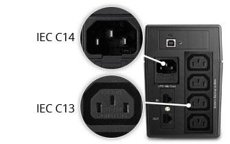 Prises IEC C13 et CEE 7/7
