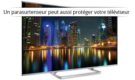 Parasurtenseur avec protection TV