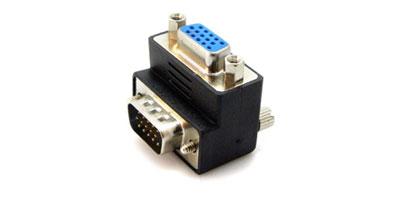 Connecteur coudé VGA