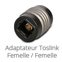 Toslink Adaptateur Femelle-Femelle
