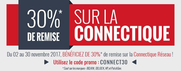 -30%* sur la Connectique Réseau