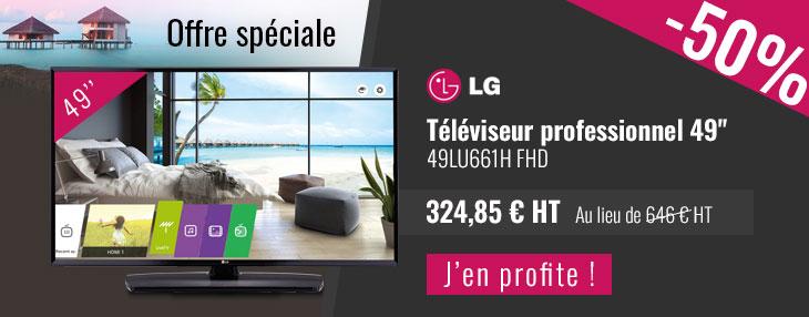 LG téléviseur professionnel 49''