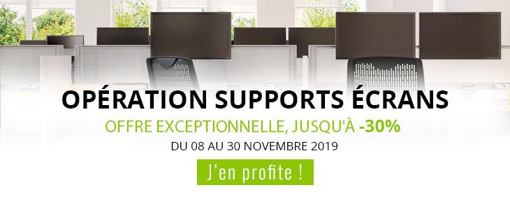 OPÉRATION SUPPORTS ÉCRANS