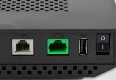 Toute la connectique téléphonique et ADSL