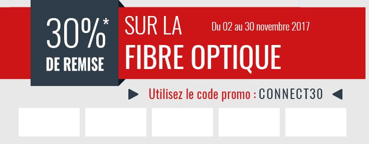Promo sur la Fibre Optique