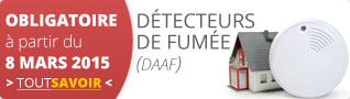 Découvrez les détecteurs de fumée (DAAF)