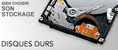 Guide d'achat disque dur et stockage externe