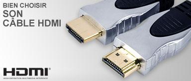Guide d'achat câble HDMI